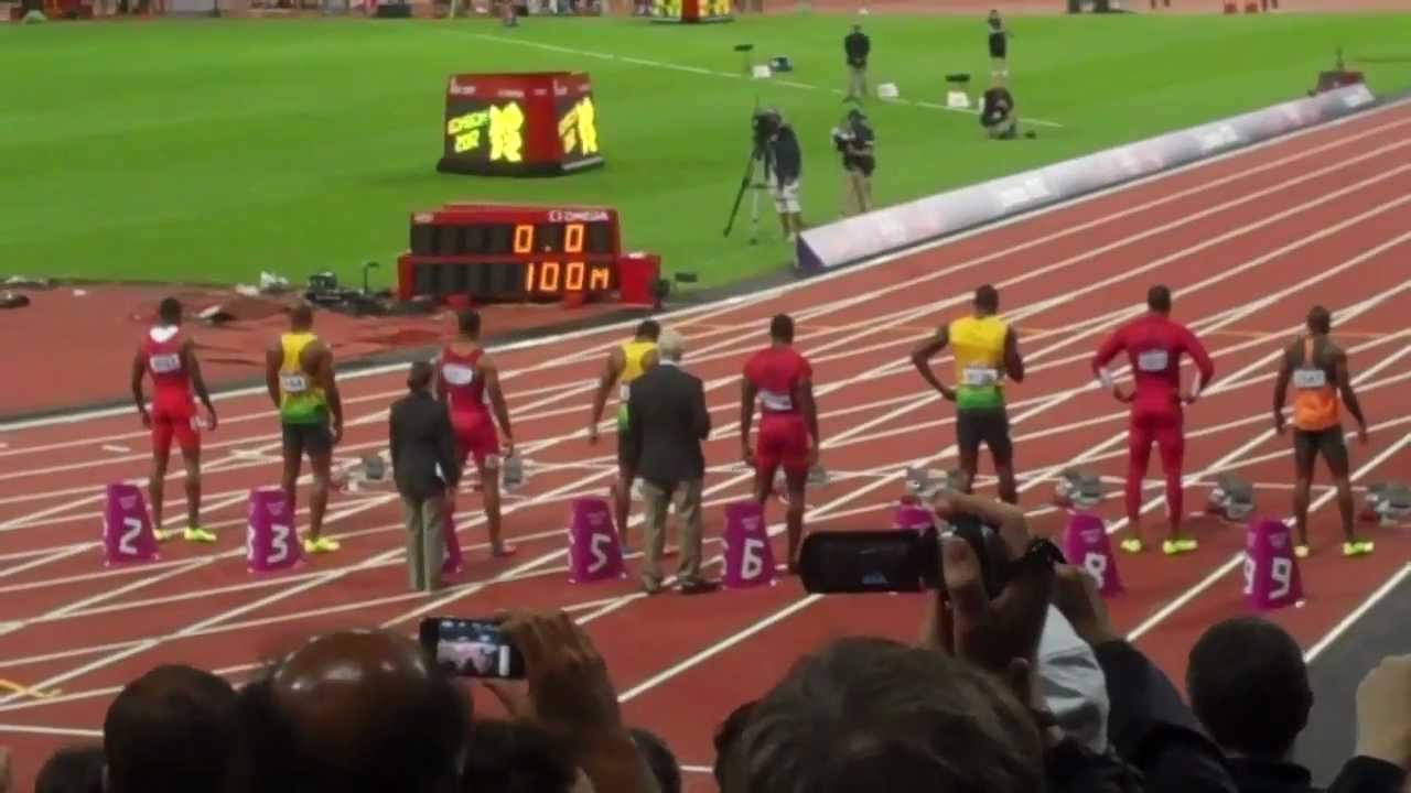 2012 London Olympics Usain Bolt Beer Bottle Incident - YouTube