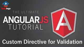 AngularJS Video Tutorials - Custom Directive for Validation