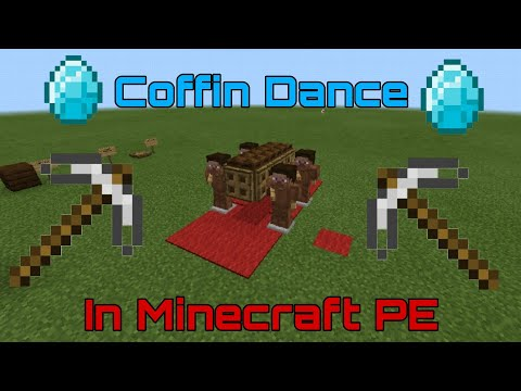How To Build The COFFIN DANCE Meme In MINECRAFT!