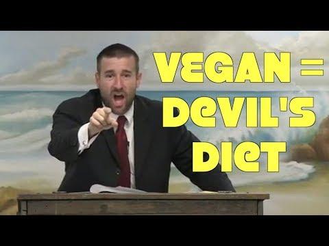 Pastor Warns Vegan Is Devils Diet & Will Kill You!