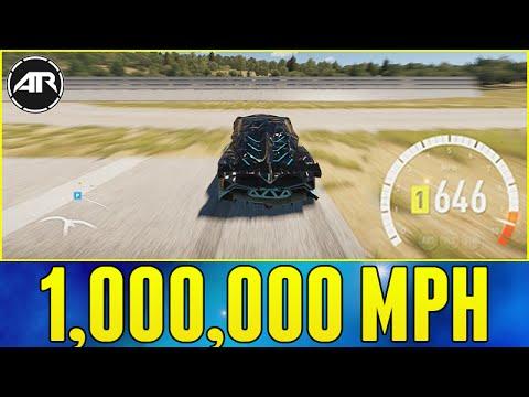Forza Horizon 2 : 1,000,000 MPH WHEEL SPEED!!!