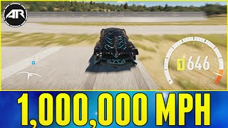 Forza Horizon 2 : 1,000,000 MPH WHEEL SPEED!!!