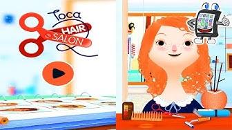Toca Hair Salon 2 App Deutsch mit Nina|Haare schneiden, frisieren & färben |Umstyling bei Mann&Frau