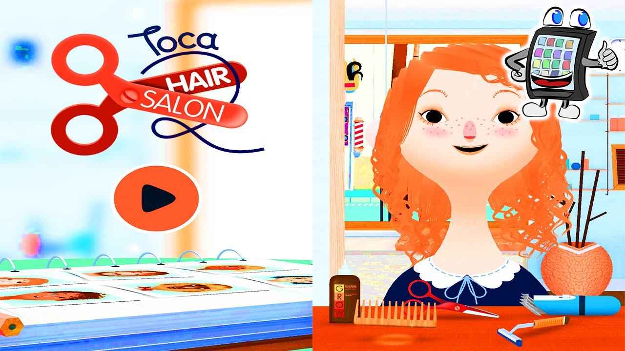Toca Hair Salon 2 App Deutsch Mit Ninahaare Schneiden Frisieren