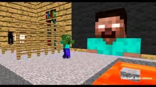 Canavar Okul Engel Ders Minecraft Animasyon komik :D