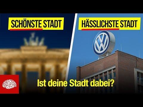 Die schönsten und hässlichsten Städte Deutschlands