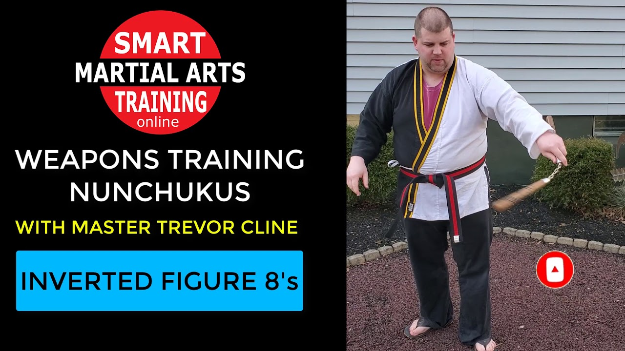 Weapons Training With Master Cline Nunchuku Inverted Figure 8 S Martial Arts Training Online Youtube