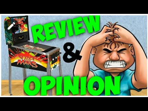 Arcade1up Attack From Mars Pinball Review And Opinion from Jester Tester