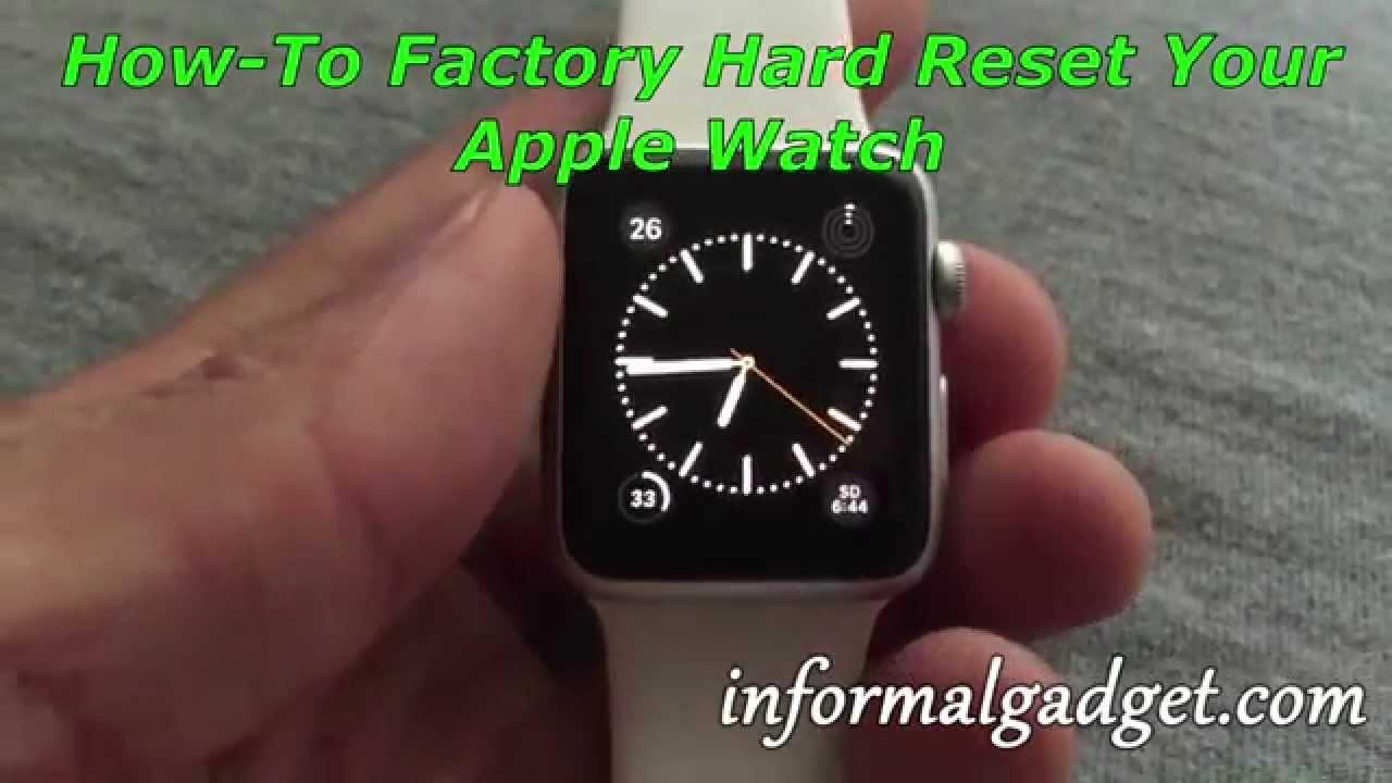 How do i restart my apple watch series 3