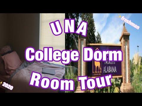 College Dorm Room Tour 2020!!   University Of North Alabama   Azaria Feagin