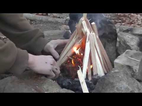Bushcraft Fire Kit - Renewable and Reliable
