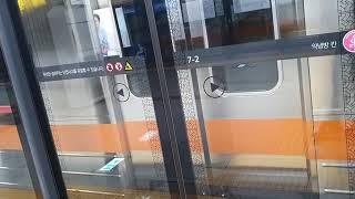 서울교통공사 3호선 회송 수서역 대기