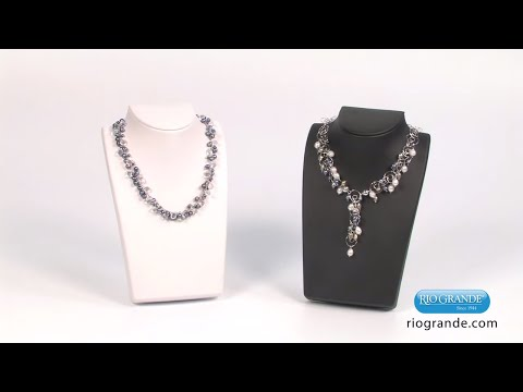 Displaying Jewelry with Travel Necklace Displays