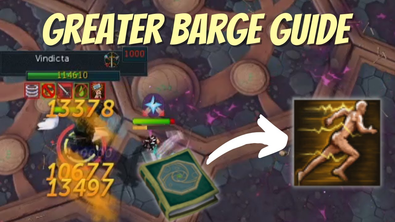 Greater Barge Ability Guide - How to MAXIMIZE its potential!