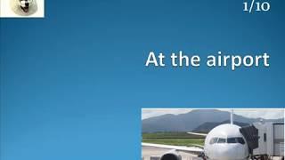 Praktyczny angielski w podróży: zwroty i słownictwo na lotnisku.