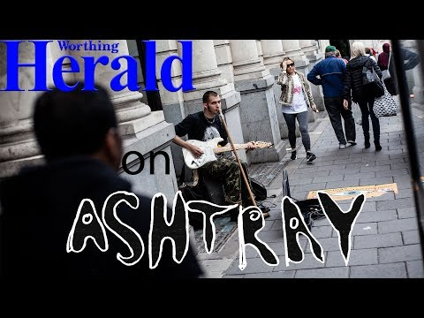 WORTHING HERALD INTERVIEW WITH ASHTRAY