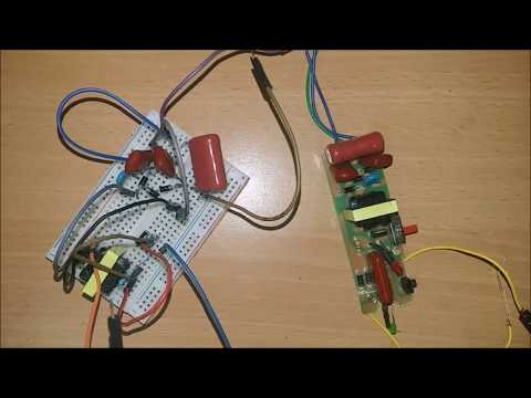 How to make high voltage generator - DIY Mosquito Zapper