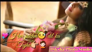 Har Zakhm Dil Ka Tujhe (Tu Meri Zindagi Hai)  Sonu Kakkar  By Diksha photo studio