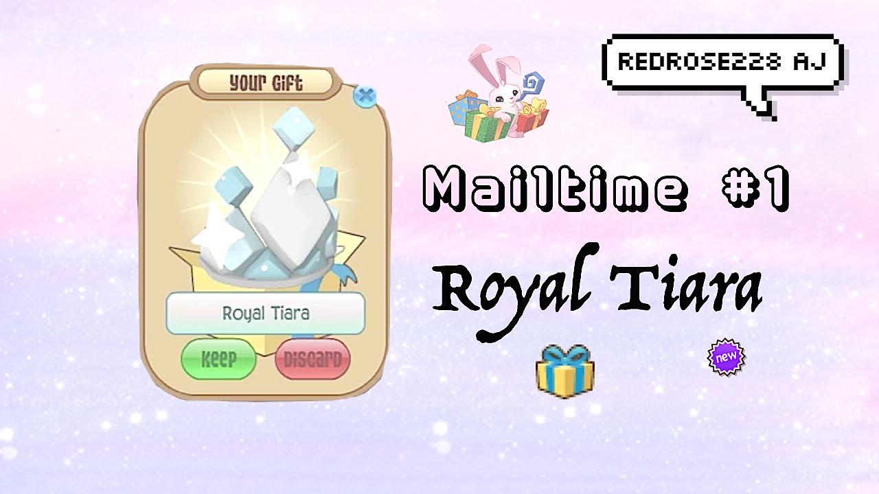 Animal Jam Mailtime 1 , Royal Tiara☆