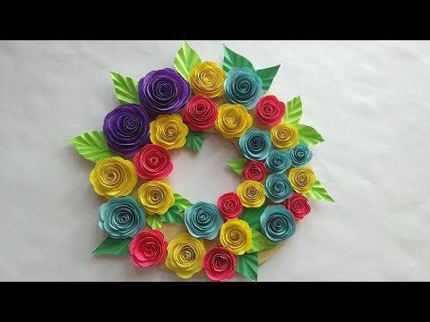 DIY-wall Hanging craft ideas || DIY Room  decor ideas || very Easy paper craft