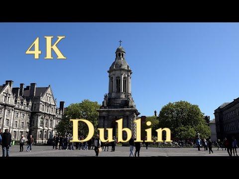 Dublin, Irland Rundreise, Doku mit Sehenswürdigkeiten in video 4k ultra hd (1/7)