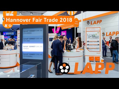 LAPP on the Hannover Fair Trade 2018 - One company. One Name. Worldwide.