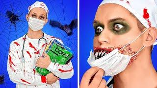 Download IDEAS PARA DISFRACES DE HALLOWEEN ATERRADORES || Trucos de maquillaje y bromas por 123 GO! BOYS
