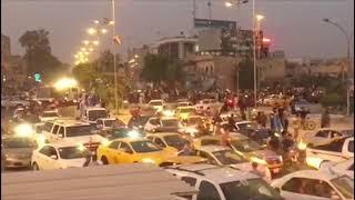 People Welcome Iraqi Troops Deployed to Take Control of Kirkuk