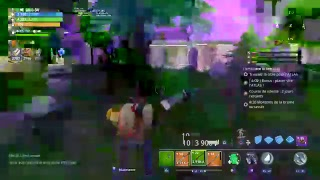 Live relaxing on Fortnite save the world with nocta