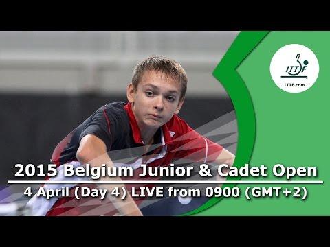 2015 Belgium Junior & Cadet Open - DAY 4 LIVE