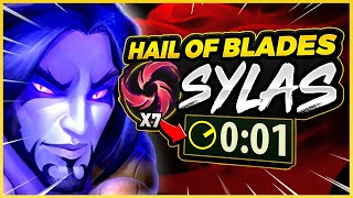 ARMOOON'S HAIL OF BLADES SYLAS MASTERPIECE (NOT TROLL) - League of Legends