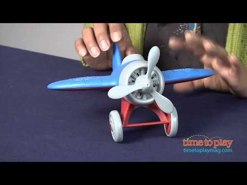 Airplane from Green Toys
