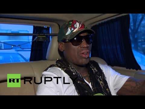 Russia: Watch Dennis Rodman talk Putin and Obama in first ever Moscow visit