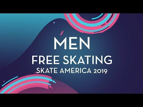 Men Free Skating   Skate America 2019   #GPFigure