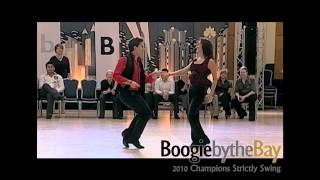 Brennar Goree & Jennifer DeLuca - 2010 Boogie by the Bay (BbB) - WCS Dance Champions Strictly Swing