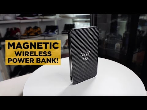 A MAGNETIC WIRELESS POWER BANK?!!?