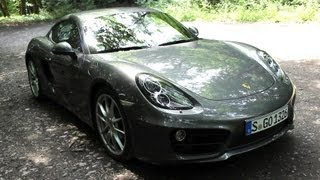' 2013 / 2014 Porsche Cayman S Manual ( 981c ) ' Test Drive & Review - TheGetawayer