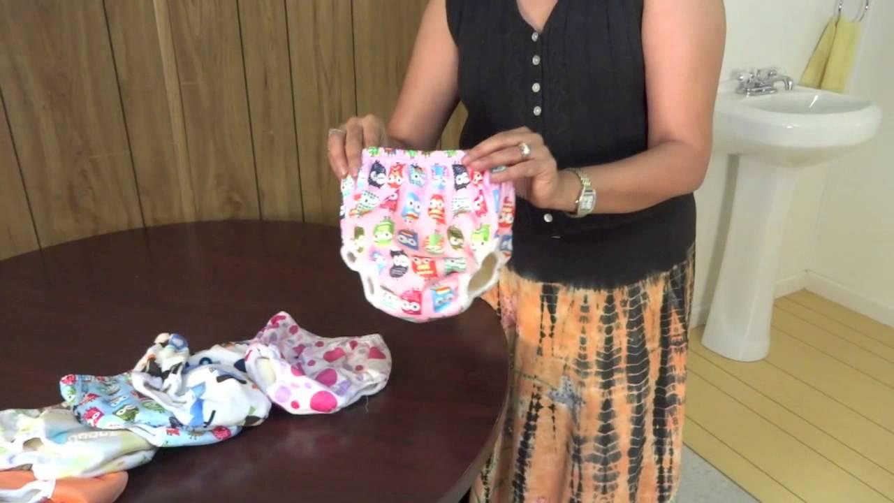 283cd72be9 NEW Potty Patty   Potty Scotty Waterproof Training Pants - YouTube