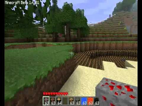 Minecraft beta 1.4_01 -Texture Pack HD - YouTube