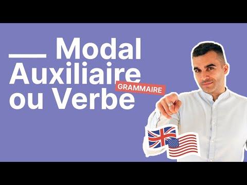 Quelle Est La Difference Entre Un Modal Un Auxiliaire Et Un Verbe En Anglais Partie 1 Youtube