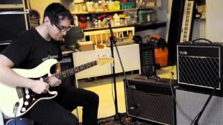 the basement vox pathfinder ac15 demo