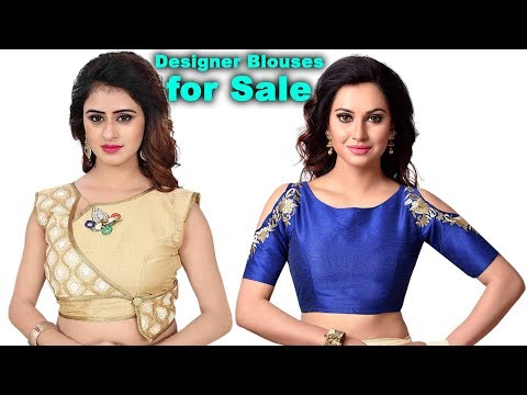 latest-model-designer-ready-made-blouse-with-price-collections-||-amazon-blouses-for-sale