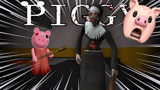THE EVIL NUN IN ROBLOX PIGGY BUILD MODE..