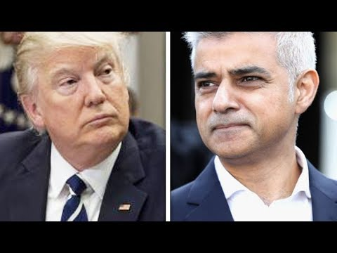 Trump Goes After London's Mayor