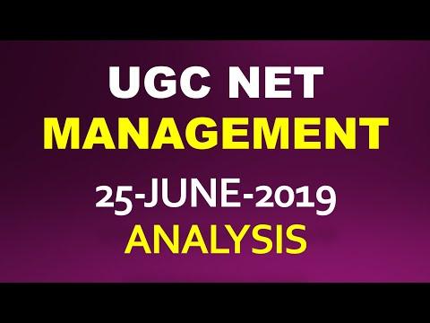 UGC NET MANAGEMENT   25 JUNE 2019   TOPICS ASKED IN PAPER