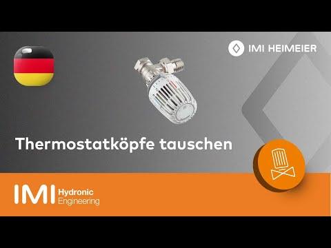 Favorit Thermostatköpfe tauschen: Schnelle und einfache Anleitung - IMI KV99