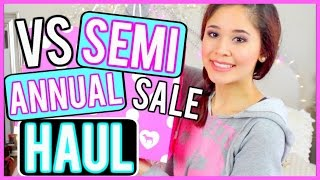 VICTORIA'S SECRET SEMI ANNUAL SALE HAUL 2016!