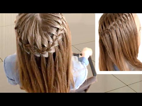Waterfall Braid Tutorial: How To Do Waterfall Braid