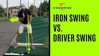 Gambar cover GOLF: Iron Swing Vs. Driver Swing