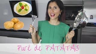 ♨ Cómo hacer Puré de Patatas, fácil y rico